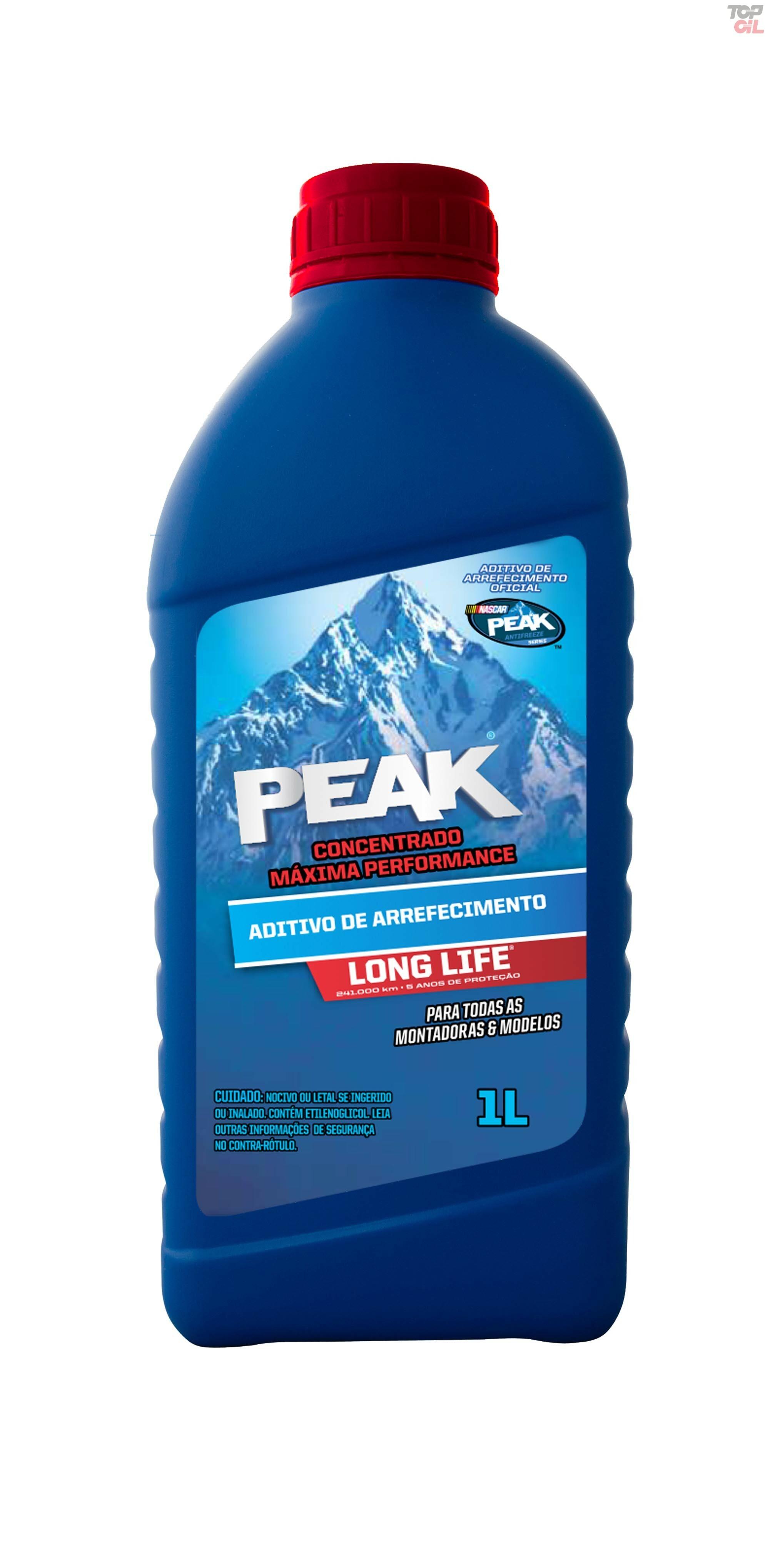 Aditivo Peak de arrefecimento ORGANICO LONG LIFE (CONCENTRADO) - 1 litro