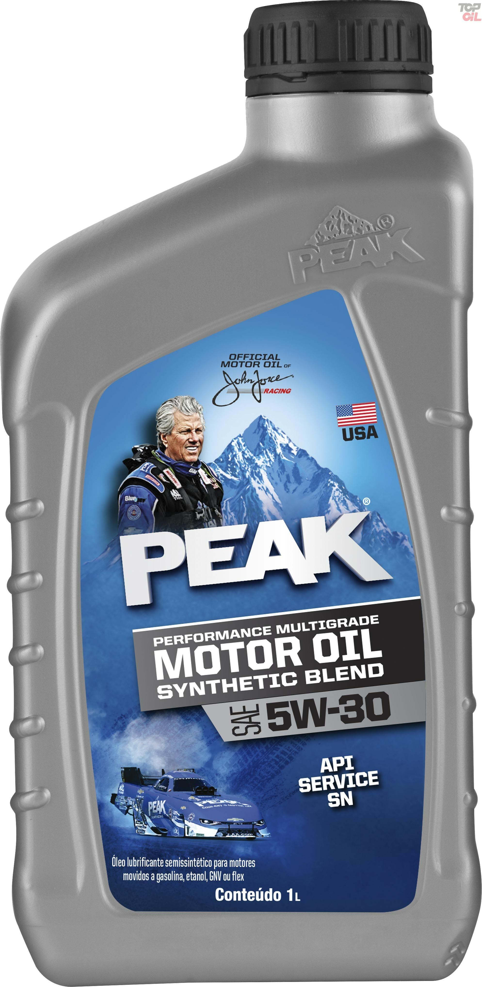 Oleo de motor Peak BLEND 5W30 API SN/GF-5- Sintetico - 946ML