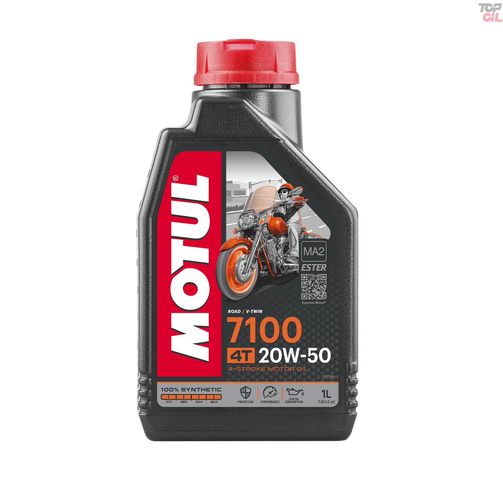 Oleo de motor Motul 7100 4T 20W50 Sintetico 1 litro