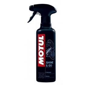 Spray Motul MC CARE E5 SHINE & GO Brilha e regenera superfícies 400 ml