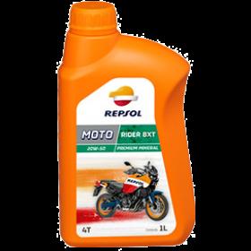 Oleo de motor Repsol MOTO RIDER 4T BXT Mineral 20W50
