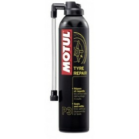 Motul MC CARE P3 TYRE REPAIR Repara furos e infla o pneu imediatamente - 300ML