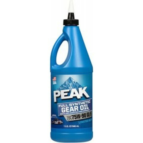Oleo de Cambio Peak GEAR OIL SYNTHETIC 75W90 API GL-5/LS - 1 litro