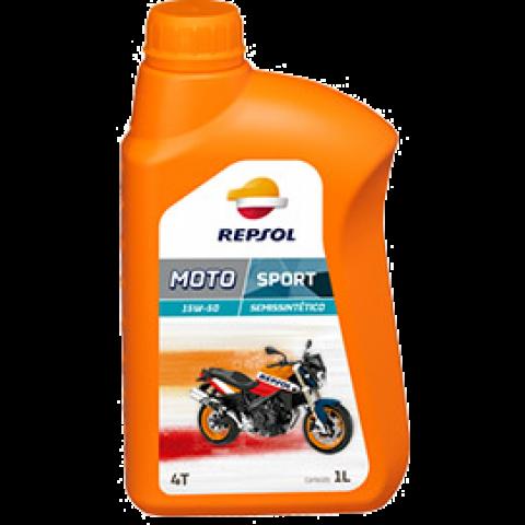 Oleo de motor Repsol MOTO SPORT 4T Sintetico 15W50