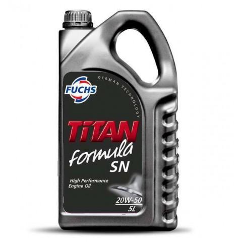 Oleo de motor Fuchs TITAN FORMULA SL 20W50 Mineral 1 litro